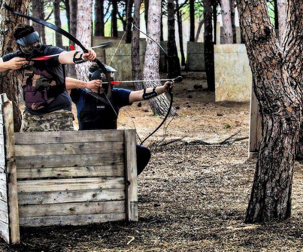 Archery Tag entre amis